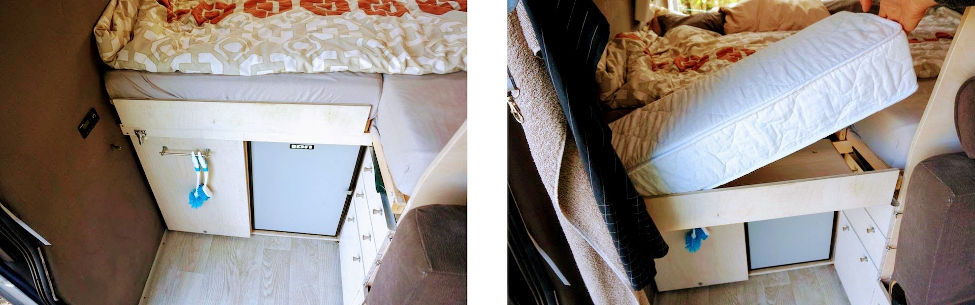 Per Auszug das Bett auf 2m Länge bringen